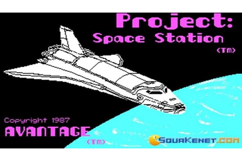 Project Space Station gameplay (PC Game, 1985) - YouTube