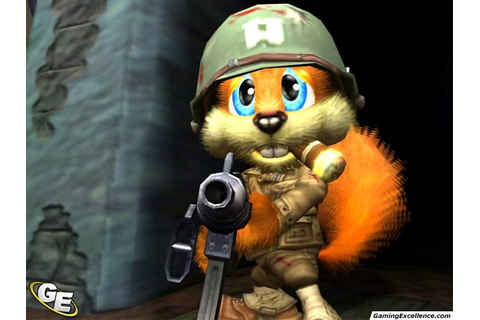 Conker: Live and Reloaded Review - GamingExcellence