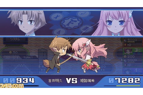 Download Game Psp Free: Baka To Test To Shoukanjuu ...