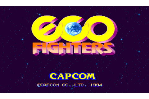 Eco Fighters (1993) Arcade game