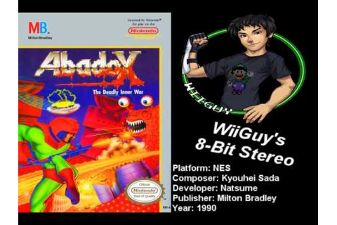 Abadox: The Deadly Inner War (NES) Soundtrack - 8BitStereo ...
