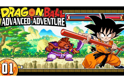 DRAGON BALL ADVANCE ADVENTURE #1 - EN DIRECTO - YouTube