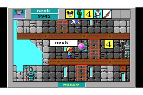 Word Rescue 2 (1992) [PC] - Level 9 - A Neighbor's Castle ...