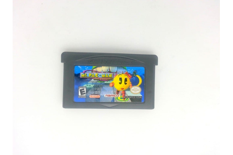 Ms. Pac-Man Maze Madness game for GameBoy Advance (Loose ...