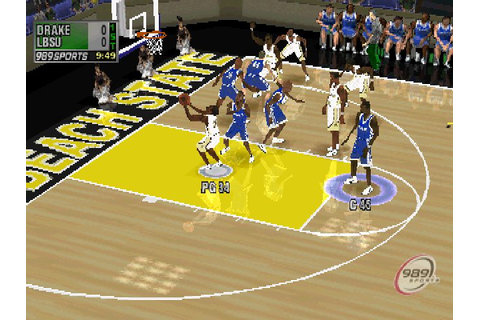 NCAA Final Four 2001 (2000) by 989 Sports PS game