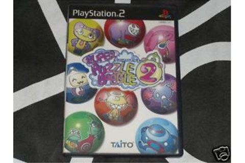 Playstation 2 PS2 Import Game Super Puzzle Bobble 2 Region ...