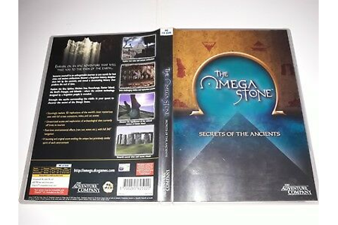 Riddle of the Sphinx II: The Omega Stone PC Game 049-929 ...