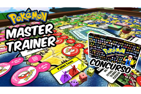 BEST GAMEPLAY EVER | Pokémon Master Trainer + Concurso ...