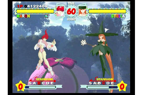 Astra Superstars (Sega Saturn) Story Mode as Maron - YouTube