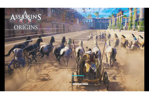 Assassin's Creed Origins - INTENSE CHARIOT RACING! NEW ...