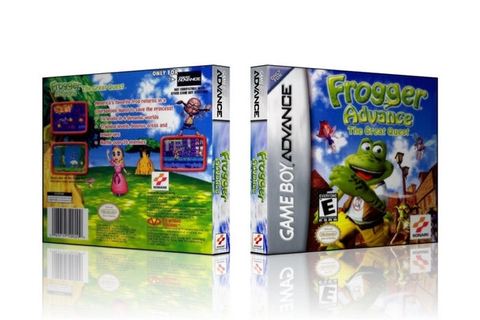 GBA Frogger Advance The Great Quest by CustomGameCases on Etsy
