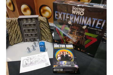 Wargame News and Terrain: Warlord Games: Doctor Who ...