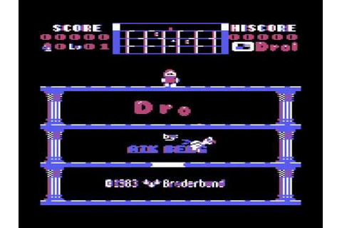Atari 8-bit - Drol (game) - YouTube
