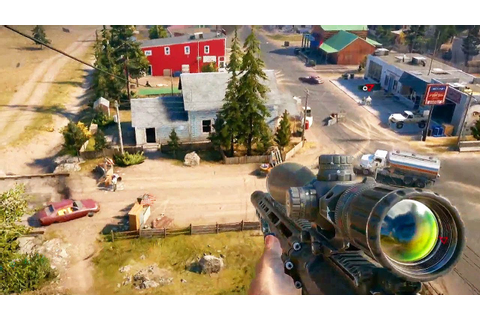 FAR CRY 5 - Gameplay Demo E3 2017 @ 1080p HD - YouTube