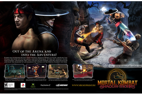 Mortal Kombat Shaolin Monks | Video Game Advertisements ...
