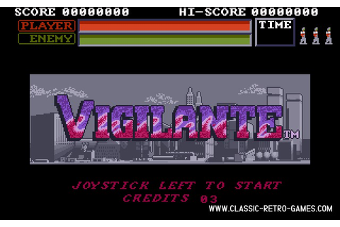 Download Vigilante & Play Free | Classic Retro Games