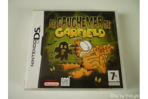NINTENDO DS / Jeu Le Cauchemar de Garfield [ Version PAL ...