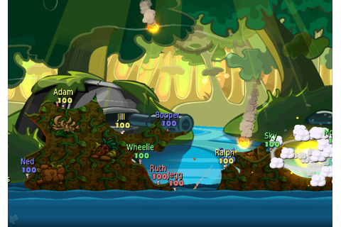 Worms: Battle Islands • Eurogamer.net