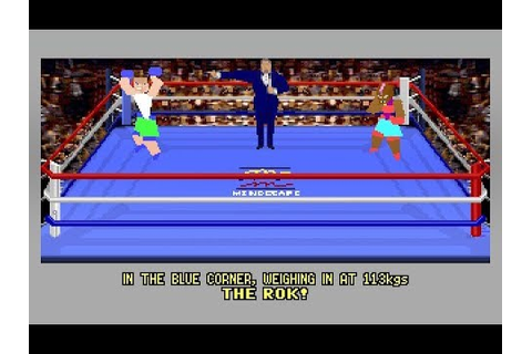 4D Sports Boxing (PC/DOS) 1991, Distinctive Software Inc ...