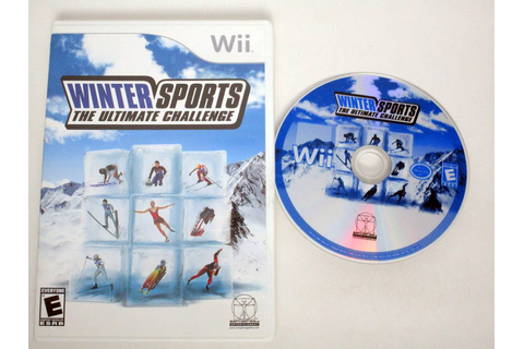 Winter Sports the Ultimate Challenge game for Nintendo Wii ...