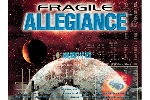 Download Fragile Allegiance | DOS Games Archive