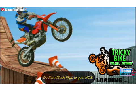 Tricky Bike Trail Stunt / Motor Stunt Games / Motor Bike ...