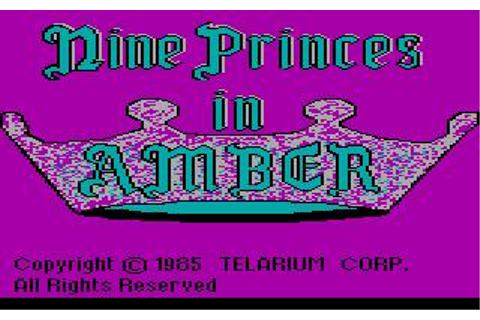 Nine Princes in Amber Download (1987 Adventure Game)