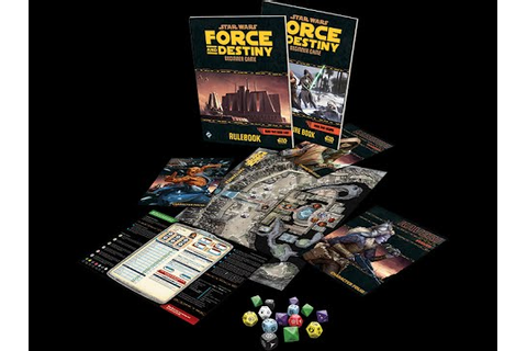 Star Wars Force and Destiny Beginner Game Components ...