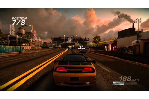 Test vidéo Ridge Racer Unbounded - Gameplay - YouTube