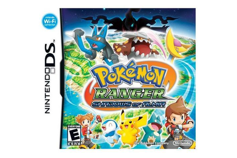 Pokemon Ranger: Shadows of Almia Nintendo DS Game - Newegg.com