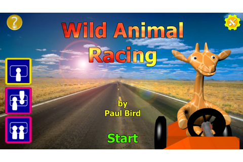 Wild Animal Racing - Title Screen image - Indie DB