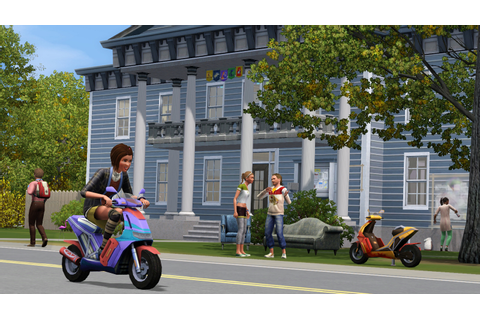 Dream Games: The Sims 3 University Life