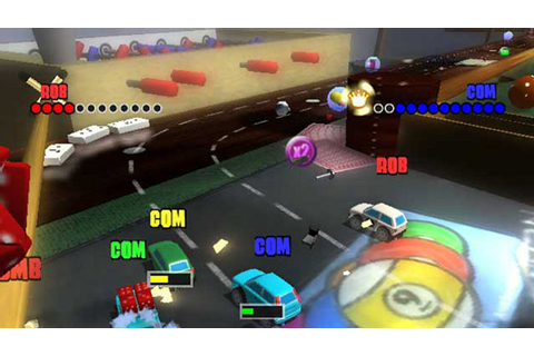 Micro Machines V4 Game | PS2 - PlayStation
