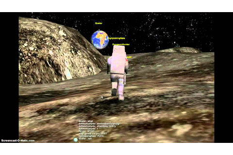 One the moon,On Earth. ( MMORPG MOON BASE) - YouTube