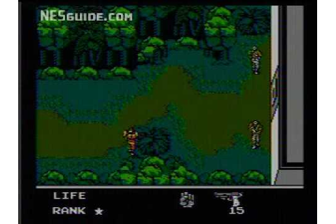 Snake's Revenge - NES Gameplay - YouTube