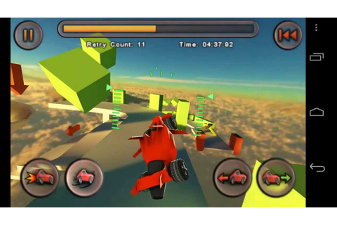 Jet Car Stunts Lite Android - Car Game - YouTube