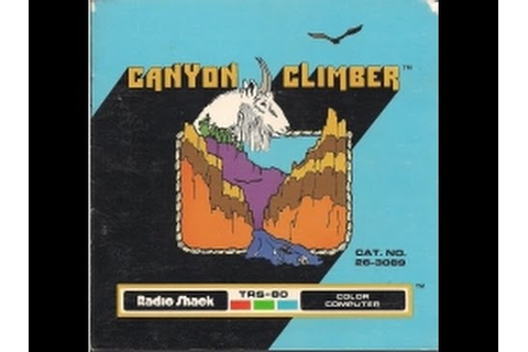 Canyon Climber - 1982 - TRS-80 Color Computer Cartridge ...