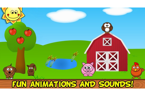Barnyard Games For Kids 18 Month 2 Years, Fun and ...