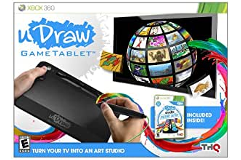 Amazon.com: uDraw Game tablet with uDraw Studio: Instant ...