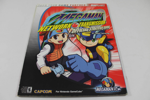 Mega Man Network Transmission Guide - Brady Games