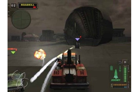 Twisted Metal Black (2001) by Incognito Studios PS2 game