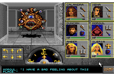 Eye of the Beholder on Commodore 64 / Boing Boing