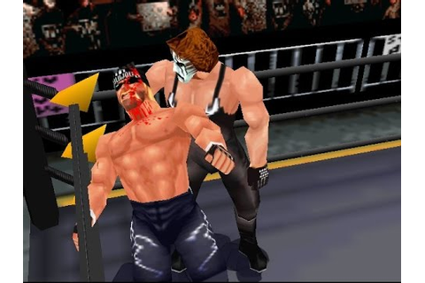 N64 WCW / nWo Revenge - Sting vs Hollywood Hogan - YouTube
