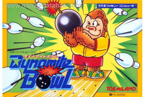 Dynamite Bowl - MSX - Games Database