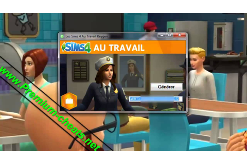 Les Sims 4 Au Travail Clé d'activation Jeu Torrent - YouTube