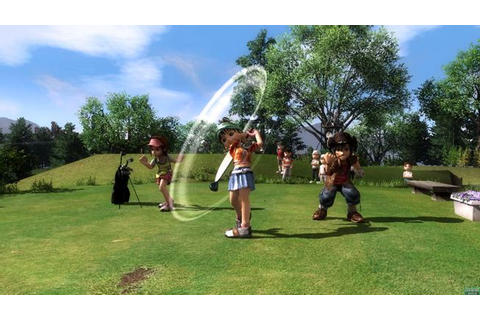 Everybody Golf 5 pro PS3 - Games.cz