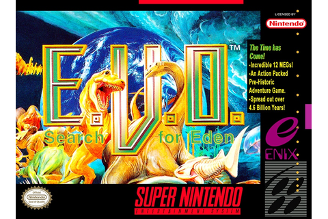 ᐅ PLAY EVO: Search for Eden On SNES Super Nintendo ...