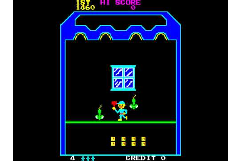 Arcade Game: Cheeky Mouse (1980 Universal) - YouTube