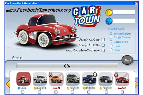 Fresh game cheats: Car Town Hack