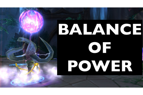 Balance of Power (Improving on History) | WoW Achievement ...